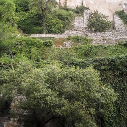 Jižní terasy hrad a zámek Český Krumlov