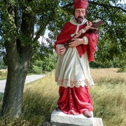 Svatý Jan Nepomucký - Hosín - po opravě
