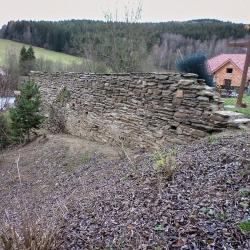Kamenná zeď Rožmitál na Šumavě-3