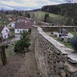Kamenná zeď Rožmitál na Šumavě-5