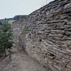 Kamenná zeď Rožmitál na Šumavě-6