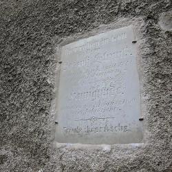 Rožmitál na Šumavě - pamětní deska