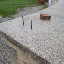 Kamenná zeď - Kájov